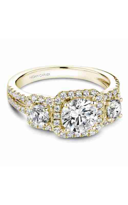 Noam Carver 3 Stone Engagement ring B210-01YM product image
