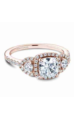 Noam Carver Engagement ring 3 Stone B213-01RM product image