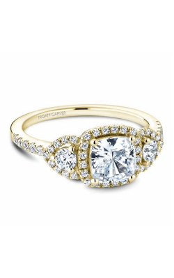 Noam Carver 3 Stone Engagement ring B213-01YM product image