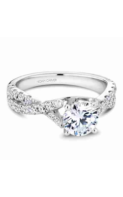 Noam Carver Engagement Ring Twist Band B154-01WM product image