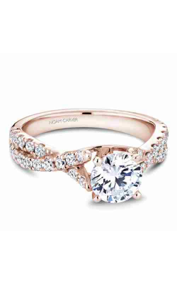 Noam Carver Twist Band Engagement ring B154-01RM product image