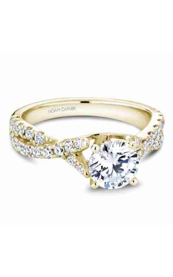 Noam Carver Twist Band Engagement ring B154-01YM product image