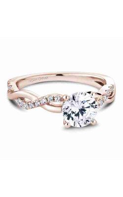 Noam Carver Engagement Ring Twist Band B185-02RM product image