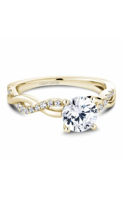 Noam Carver Twist Band Engagement ring B185-02YM product image