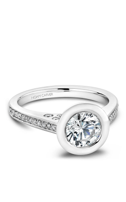 Noam Carver Bezel Engagement ring B016-02WM product image