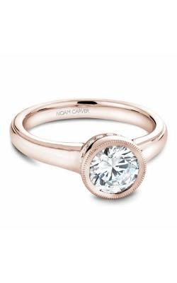Noam Carver Bezel Engagement ring B025-01RM product image