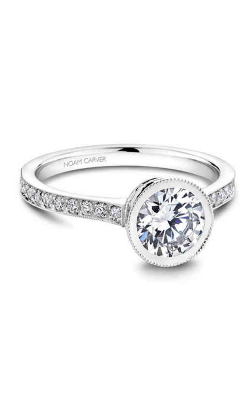 Noam Carver Bezel Engagement ring B025-02WM product image