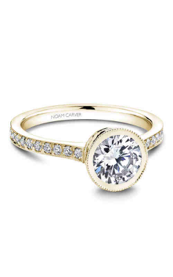 Noam Carver Bezel Engagement ring B025-02YM product image