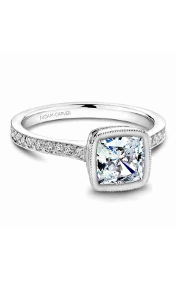Noam Carver Engagement Ring Bezel B026-02WM product image