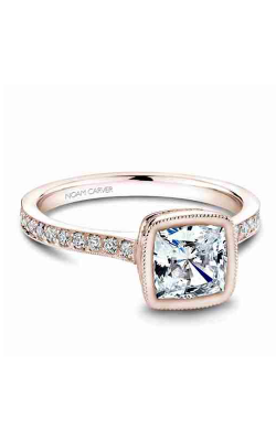Noam Carver Bezel Engagement ring B026-02RM product image