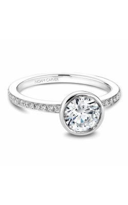 Noam Carver Bezel Engagement ring B095-02WM product image