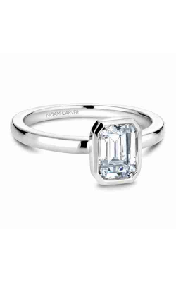 Noam Carver Engagement Ring Bezel B095-03WM product image