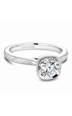 Noam Carver Bezel Engagement ring B140-13WME product image
