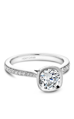 Noam Carver Engagement Ring Bezel B141-12WM product image