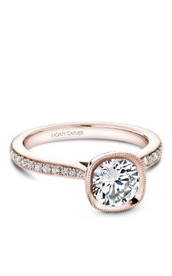 Noam Carver Bezel Engagement Ring B141-12RM product image