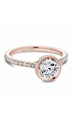 Noam Carver Bezel Engagement ring B142-12RM product image