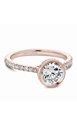 Noam Carver Engagement Ring Bezel B142-12RM product image