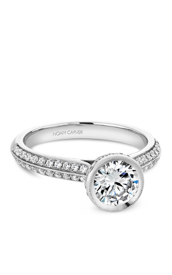 Noam Carver Engagement Ring Bezel B144-12WM product image