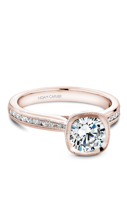 Noam Carver Engagement Ring Bezel B145-13RM product image