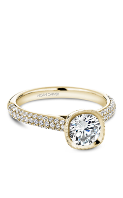 Noam Carver Bezel Engagement ring B146-13YM product image