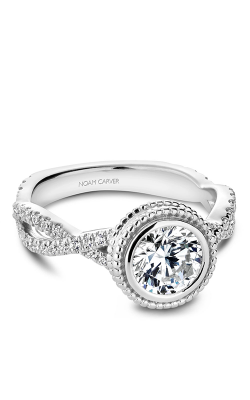 Noam Carver Engagement Ring Bezel R010-01WM product image