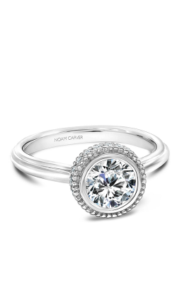Noam Carver Engagement Ring Bezel R016-01WM product image