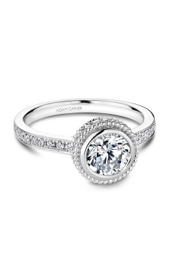 Noam Carver Engagement Ring Bezel R017-01WM product image