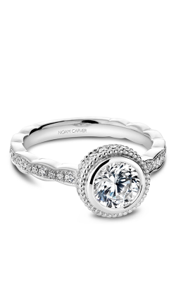 Noam Carver Engagement Ring Bezel R018-01WM product image