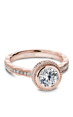 Noam Carver Bezel Engagement ring R018-01RM product image