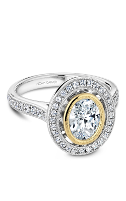 Noam Carver Bezel Engagement Ring R040-01WYM product image