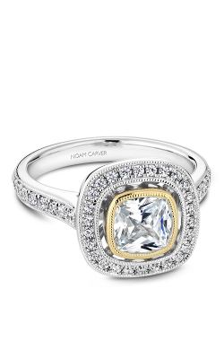 Noam Carver Bezel Engagement ring R040-03WYM product image