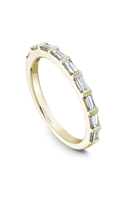 Noam Carver Wedding Band STA7-1YM-D product image