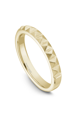 Noam Carver Wedding Band STA8-1YM product image