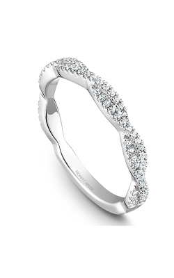 Noam Carver Wedding band Stackables STB20-1WS-D product image