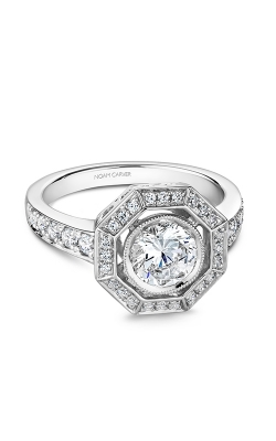 Noam Carver Vintage Engagement Ring B251-01WM product image