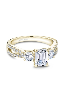 Noam Carver 3 Stone Engagement Ring B219-01YS product image