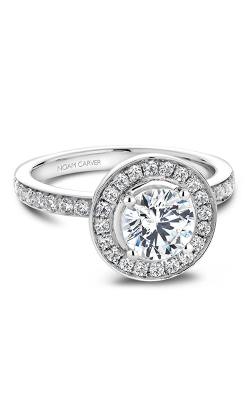 Noam Carver Halo Engagement ring B023-01WM product image