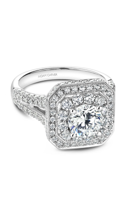 Noam Carver Halo Engagement ring B158-01WM product image