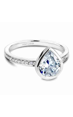 Noam Carver Bezel Engagement ring B095-08WS product image