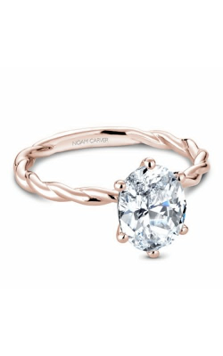 Noam Carver Twist Band Engagement ring B167-01RS product image