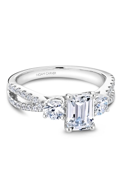 Noam Carver 3 Stone Engagement Ring B219-01WS product image