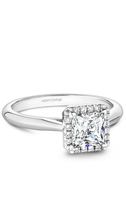 Noam Carver Halo Engagement ring B260-02WS product image