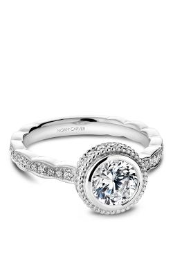 Noam Carver Bezel Engagement ring R018-01WS product image