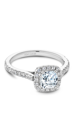 Noam Carver Halo Engagement ring R050-05WS product image