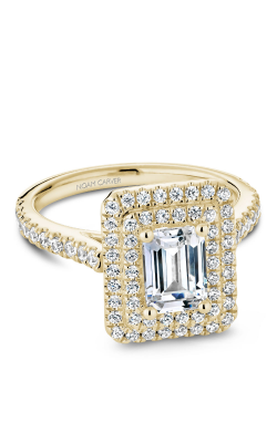Noam Carver Halo Engagement ring R051-04YS product image