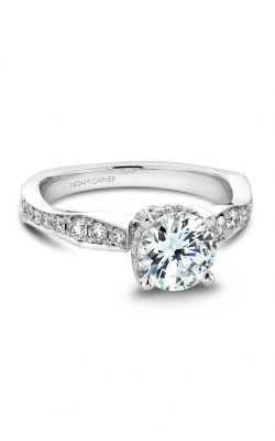 Noam Carver Vintage Engagement ring B020-01WZ product image