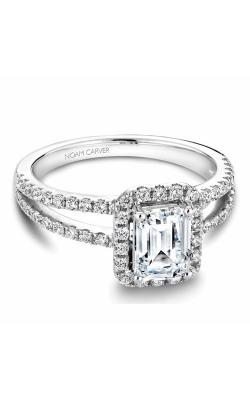 Noam Carver Halo Engagement ring B092-01WZ product image