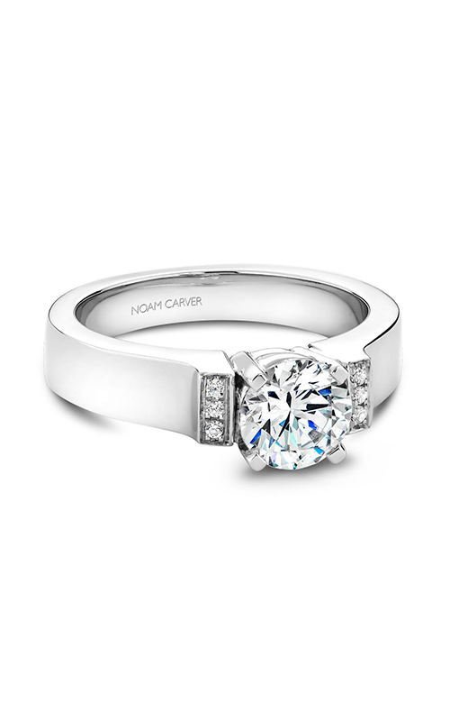 Noam Carver Modern Engagement ring B042-01A product image