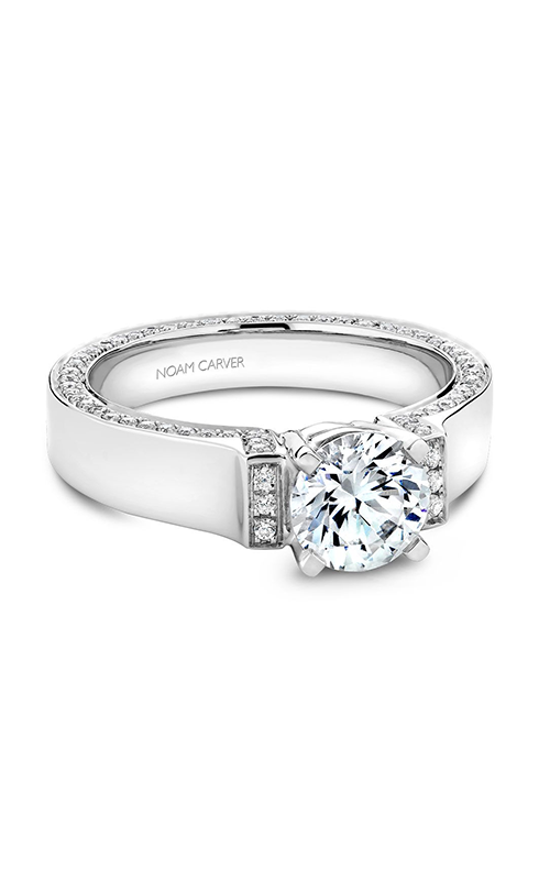 Noam Carver Modern Engagement ring B042-03A product image