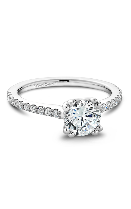 Noam Carver Solitaire Engagement Ring B001-01WM product image